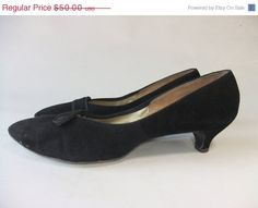 48+HOUR+SALE++Vintage+1950s+Heels+//++The+Clever+Kitten+by+FabGabs,+$40.00