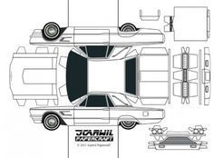Blog_Paper_Toy_papercraft_Ford_Thunderbird_Jcarwil_template_preview