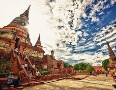 Ayutthaya province …Used to be Thailand capital city many century ago.