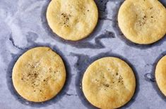 Invite the girls round for a glass of wine and impress them with these savoury, salty and delicious Gruyère biscuits from Great British Bake Off judge Paul Hollywood British Biscuit Recipes, British Baking Show Recipes, British Bake Off Recipes, Great British Bake Off, Baking Recipes, Paul Hollywood Recipes Biscuits, Baking Ideas, Uk Recipes, Brunch Recipes