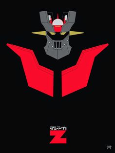 Created for the RED show at Hero Complex Gallery presented by Hero Complex Gallery and Planet Pulp.Mazinger Z stands ominous in this x screen . MAZIN-GO! Robot Cartoon, Robot Manga, Metal Robot, Iron Robot, Japanese Superheroes, Big Robots, Japanese Robot, Alternative Comics, Card Captor