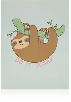FOREVER 21 Sloth Graphic File Folder Cute Sloth, Baby Sloth, Funny Sloth, Sloth Cartoon, Cute Cartoon, Sloth Drawing, Simple Doodles, Animal Wallpaper, My Spirit Animal