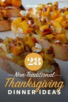 28 Non-Traditional Thanksgiving Dinner Ideas