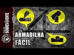 ARMADILHA CAÇA DEAD FALL - Completa e detalhada para Bushcraft e Sobrevi...