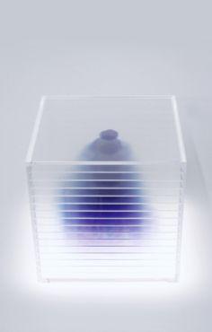Nobuhiro Nakanishi | Blob, 2008 | ink, laser print, acrylic