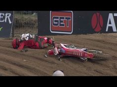 Tim Gajser Germany Crash 2017