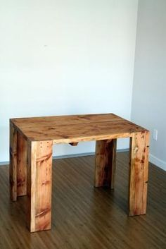 Pallet table. by carol.hasky