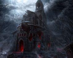 Vampire castle.
