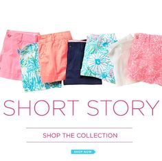 Lilly Pulitzer Summer '13 Short Collection