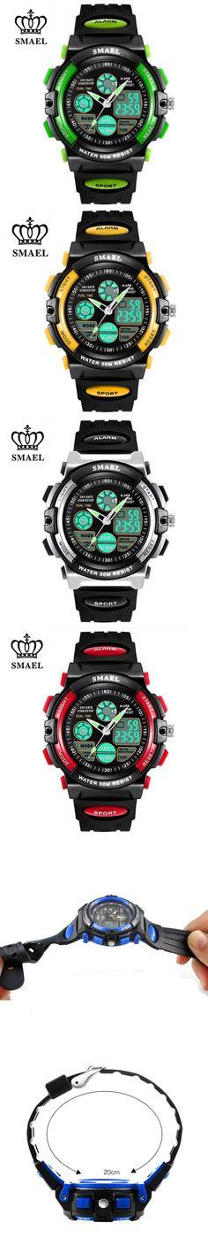 2016 S SHOCK Brand Women Kids Sports Watches Childrens Sport Watch Military Fashion Quartz Digital Watch Boys Wristwatch Relojes