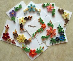 Quilled Set