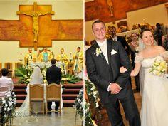 Polish wedding photo at Polish church