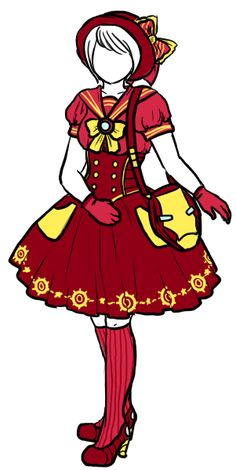 Iron Man Lolita By Siren via Tumblr    (This may become my Loli Iron Man outfit.)