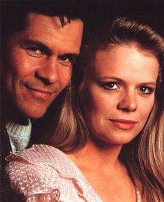 """One of the best supercouples ever: """"Cruz"""" (A. Martinez) and """"Eden"""" (Marcy Walker) from """"Santa Barbara"""""""