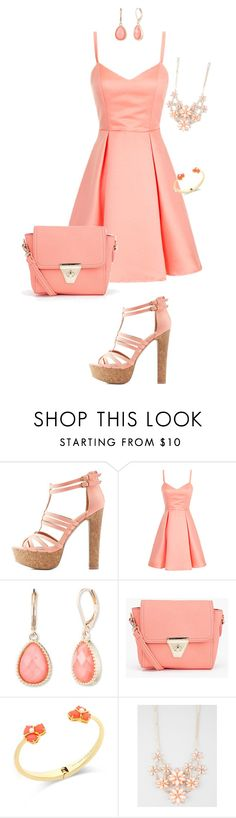 """Untitled #166"" by jmatz on Polyvore featuring Charlotte Russe, Vintage America, Boohoo, Kate Spade, Full Tilt, women's clothing, women, female, woman and misses"