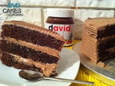 SIN LACTOSA DEVIL'S FOOD CAKE O LA MEJOR TARTA DE CHOCOLATE Y NUTELLA DEL MUNDO…