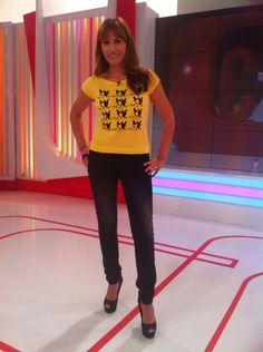 Carolina Casado, este finde zapatos de @MARYPAZ Shoes en #corazontve  y... pic.twitter.com/6aqoS9uSuQ