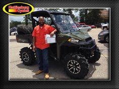 Thank you Titus Miller from Hattiesburg MS for getting a 2017 Polaris Ranger XP 1000 #polaris