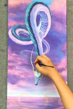 Canvas Painting Tutorials, Flower Painting Canvas, Diy Canvas Art, Art Painting Gallery, Painting Art, Cool Art Drawings, Acrylic Art, Watercolor Art, Mermaid Paintings