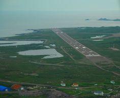 Freakishly short runway St. Pierre..scary!