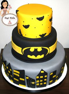 Bolo Batman Cake Batman