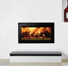 inset wood fires