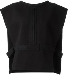 Yeezy Adidas Originals by Kanye West cropped vest
