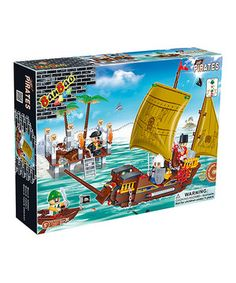 Pirates Block Set by BanBao #zulily #zulilyfinds