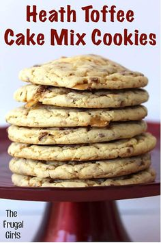 Heath Toffee Cookies