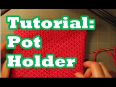 In a Sheepishly Sharing video (#99) I showed my favorite pot holder made by my mother-in-law. While she's an excellent knitter and crocheter, she can't read a pattern and I had difficulty understan...