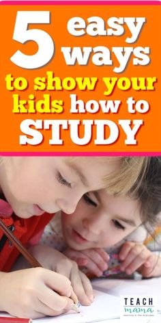 The school year is here and kids need to learn how to study before all the studying for exams will be going on! Show your kids how to study these five easy ways. I LOVE these ideas that work well with @postitproducts. It's a MUST-see for all parents & teachers! #teachmama #teaching #tips #education #studying #raisingkids #study #habits #student #studentlife