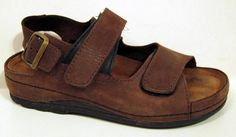 Wolky 'Colorado' Brown Leather Sandal Size 36/US 5.5 #Wolky #AnkleStrap