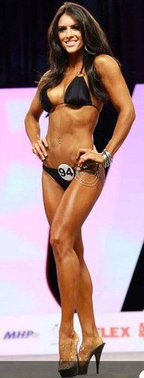 IFBB BIKINI PRO AMANDA LATONA...May be one day I'll be in the IFBB, but until then, watch out NPC here I come! :)
