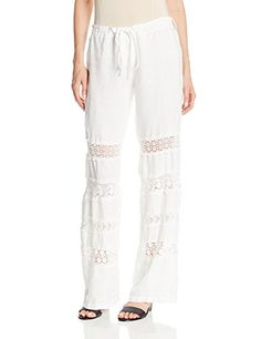 Johnny Was Women's Lacy Crochet Pant, White, Large Johnny Was http://www.amazon.com/dp/B00KL6ZIA0/ref=cm_sw_r_pi_dp_skkhub0J1XC68