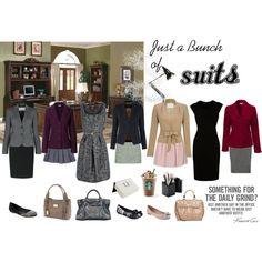 First job and interview outfits. #Polyvore