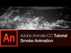 Create a Smoke in Animate CC Tutorial - YouTube Adobe Audition Tutorial, Photoshop Tutorial, Photoshop Actions, Smoke Animation, Flash Animation, Photoshop For Photographers, Photoshop Photography, Twitter Video, Facebook Video