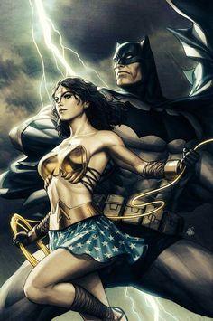 Wonderman & Batman