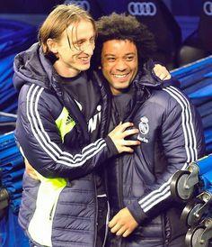 Marcelo Vieira & Luka Modric