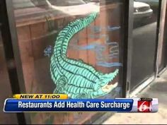 WKMG-FL: Florida Restaurant Adding Surcharge To Bills Because Of ObamaCare