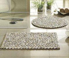 Como fazer tapete de pedras - Receitas Aki