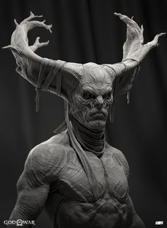 ArtStation - GOW - DarkOne Elite, Glauco Longhi