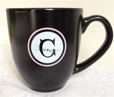 Jackson Galaxy ceramic mug (pink)