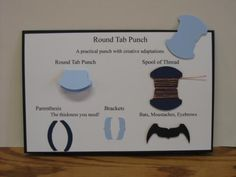Round Tab Punch (Stampin Up)