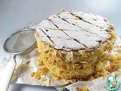"""Традиционный торт """"Наполеон"""" в английском стиле ингредиенты"""