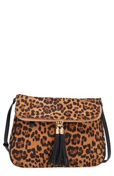 $36 Emperia 'Leo' Faux Suede Crossbody Bag available at #Nordstrom
