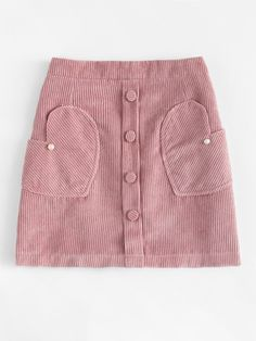 Corduroy Pearl Beaded Zip Up Back Skirt Fashion Beaded corduroy corduroy skirt Pearl Skirt Zip Skirt Outfits, Cute Outfits, Dress For Petite Women, Petite Dresses, First Date Outfits, Dresses Kids Girl, Red Skirts, Short Skirts, Skirt Fashion