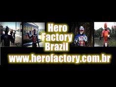 Canal dos super-heróis -Hero Factory Brazil