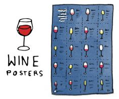 Wine Prints and Maps