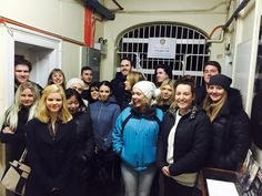 """Saturday night 10pm Ghost Tour was a real blast with all present hearts racing from the very front Gaol gate! We commenced recounting our Convict history as """"Sue"""" was trailing behind and managed to get a real 'spirited' experience! Thank you one and all hope to se you all again. Xo Matron Inch #twistedhistory #geelonggaolghosttours #Geelong #geelongghosttour"""