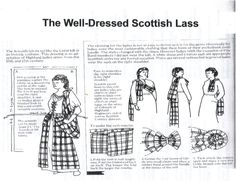 Guide to making an earasaid.The earasaid is quite a beautiful garment that is not often spoken of alongside the favored kilt. Windsor's Scottish history gives...